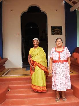 Phoolan Devi & Philomena Almeida Resized