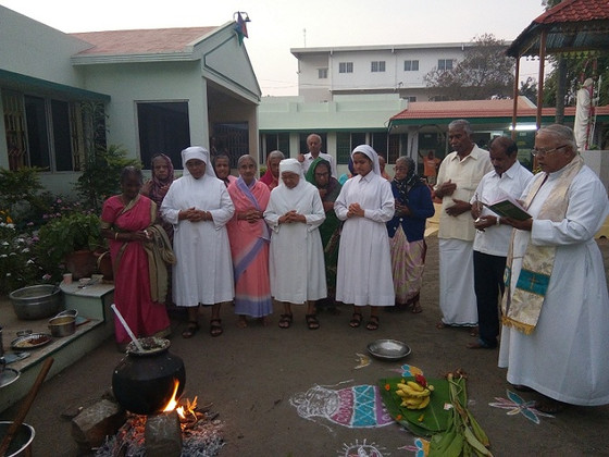 Different Events at the Little Sisters               of the Poor in Erode!