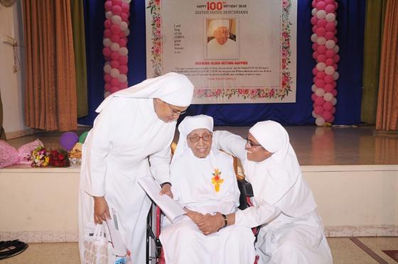 100th Birthday of Sister Marie Berchmans du Sacre Coeur! An incredible milestone!