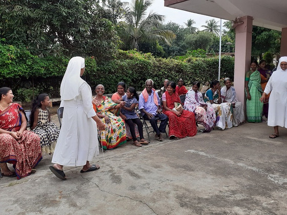 World Day of the Poor is celebrated in our Home in Mysore!
