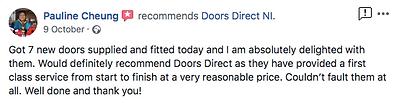 Review for doors direct ni