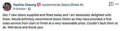 Review for doors direct ni