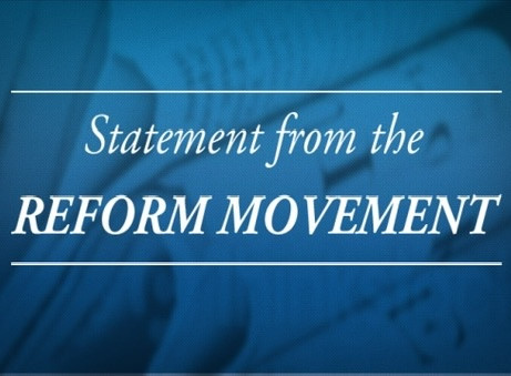 Men of Reform Judaism joins the Reform Movement in protesting the Texas Anti-Abortion Law