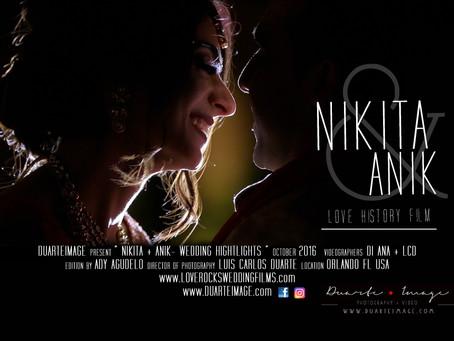 Nikita & Anik Wedding - Orlando FL