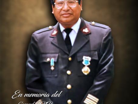 Coronel Alejandro M. Cardenas M. QEPD