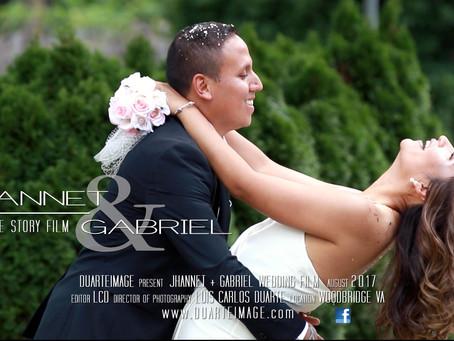 Jhannet + Gabriel wedding