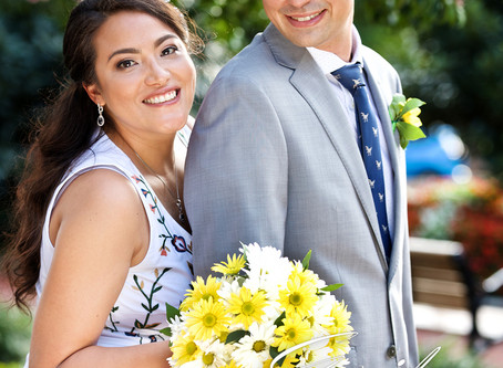 Erika + James Wedding