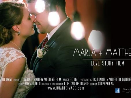 Maria + Matthew Wedding Love History Film