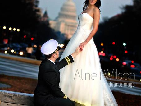 Aline + Wilson Wedding