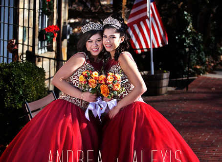 Andrea + Alexis Our Sweet Fifteen