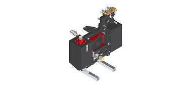Transmissão hidráulica, caixa de transmissão independente para trator, tomada de força, tomada de potência, controle remoto hidráulico, trator, hidráulica trator