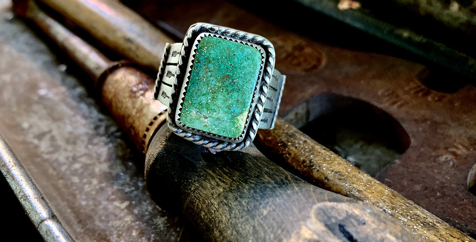 High grade Turquoise Wide Band