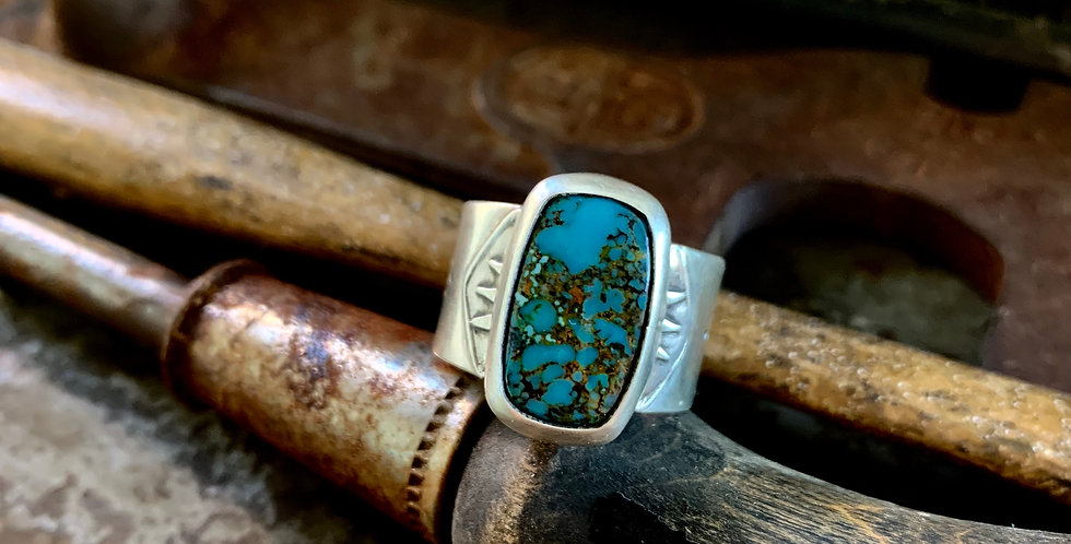 Turquoise Wide Band