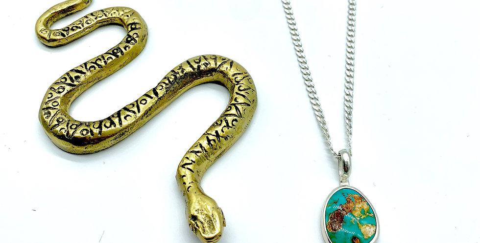 Snake Charmer Pendant