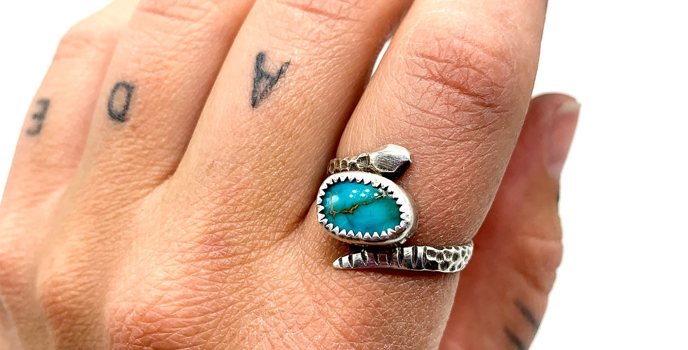 Snake Babe with Turquoise