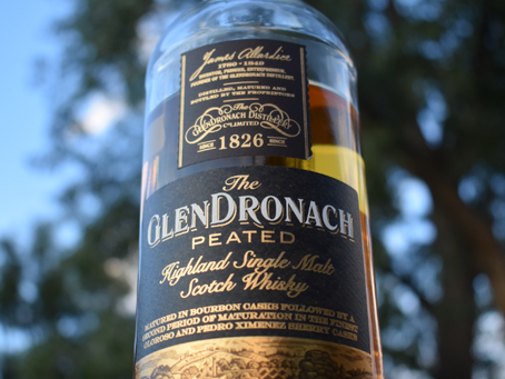 Review #58 GlenDronach Peated: Scotch