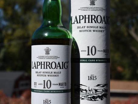 Review #77 Laphroaig 10yr Cask Strength: Scotch