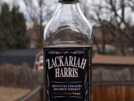 Review #115 Zackariah Harris: Bourbon
