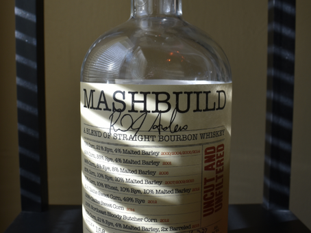 Review #108 Mashbuild Uncut and Unfiltered: Bourbon
