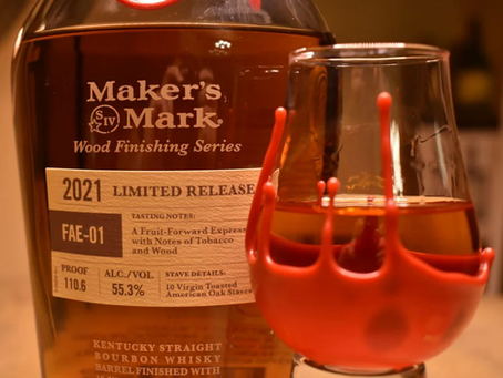 Review #129 Maker's Mark FAE-01: Bourbon