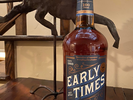 Review #52 Early Times: Bourbon