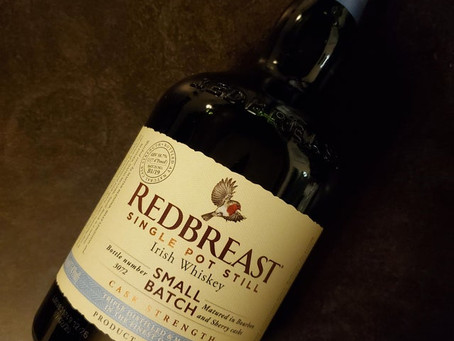Review #123 Red Breast Small Batch Cask Strength: Irish