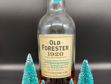 Review #128 Old Forester 1920 Prohibition Style: Bourbon