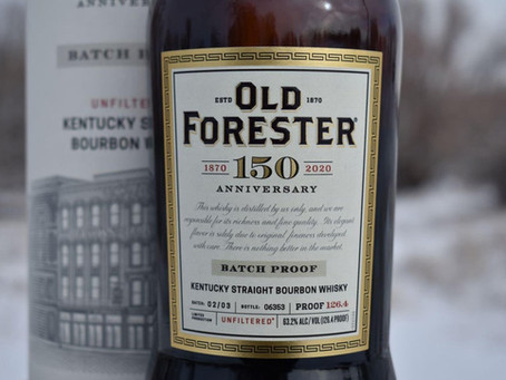 Review #98 Old Forester 150th Anniversary: Bourbon