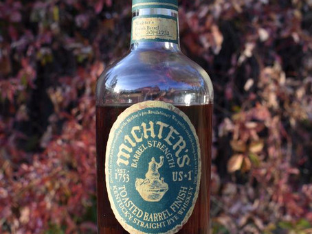 Review #71 Michter's Toasted Barrel Finish: Rye