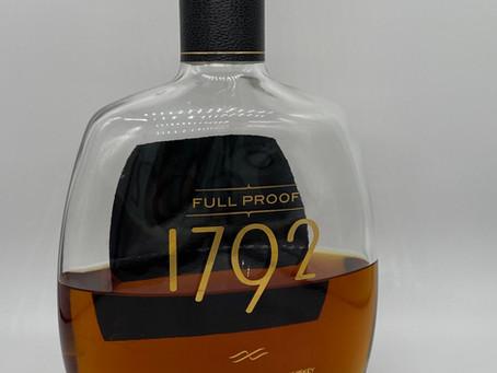 Review #110 1792 Full Proof: Bourbon