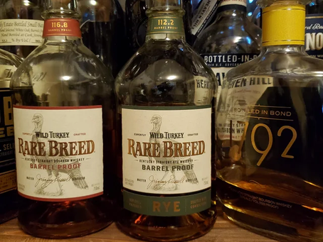 Review #68 Wild Turkey Rare Breed Rye: Rye