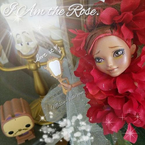 "🌹 Ooak Custom Repaint ""The Enchanted Rose"""