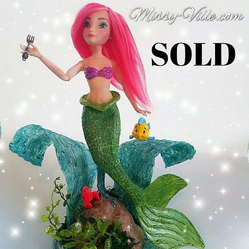 Ooak ~ Disney's Ariel . The Little Mermaid