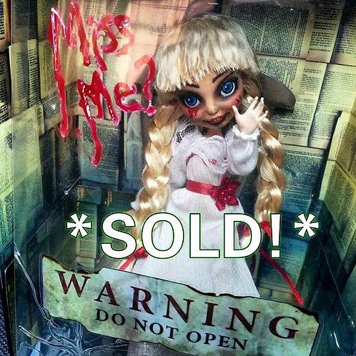 "*Ooak* "" Evil AnnaBell Doll"" Custom Re-Paint"