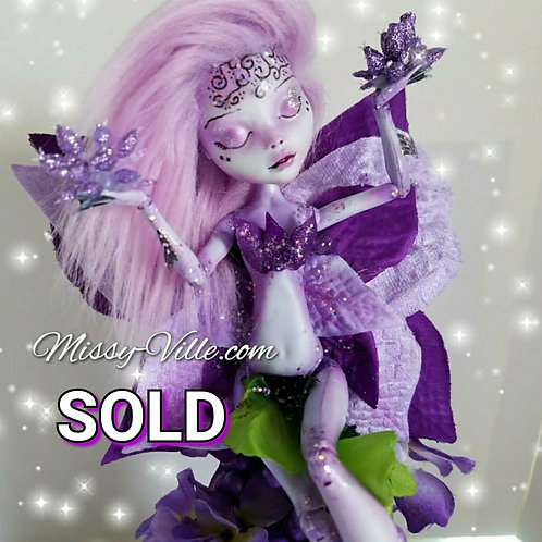 Ooak ~ Purple Garden Fairy