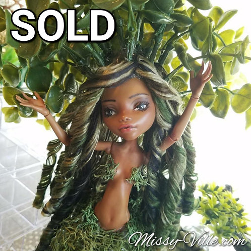 "*Ooak* Custom Re-Paint ""Mother Nature"" Earth Giving Tree"
