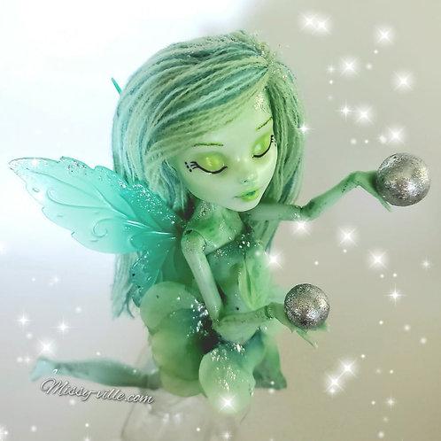 Fresh Mint Fairy. Green Fairy.
