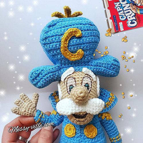 Cap'n Crunch Cereal Mascot