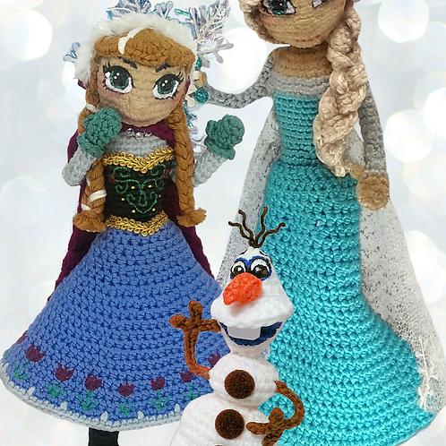 Elsa + Anna + Olaf