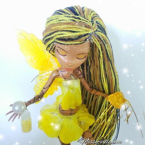 Sunshine Fairy. Yellow Fairy.