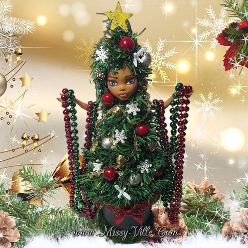 "*Ooak* ~ ""Oh Christmas Tree""  Custom Re-Paint"