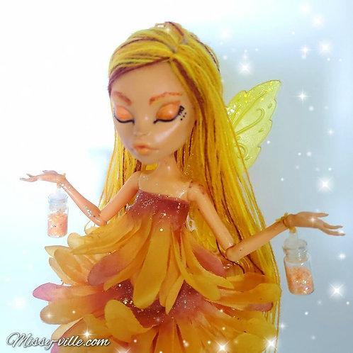 SunLight Fairy. Orange Fairy.