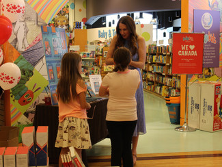First book signing at Chapters!