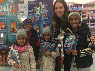 The family of 'Condo Kids' readers grows!