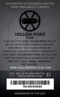 Hollow-Point Gear Bullet Valve Caps product packaging