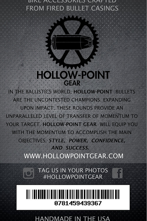 Hollow-Point Gear Bullet Valve Caps in packaging