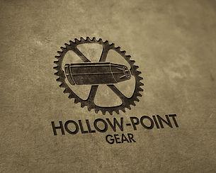 Hollow-Point Gear Bullet Logo Branded
