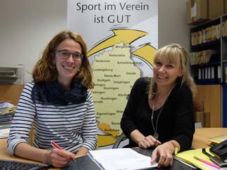 Sportkreis-Geschäftsstelle unter neuer Leitung