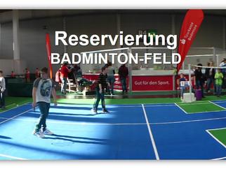 Badminton-Feld Reservierung auf der IBO 2019