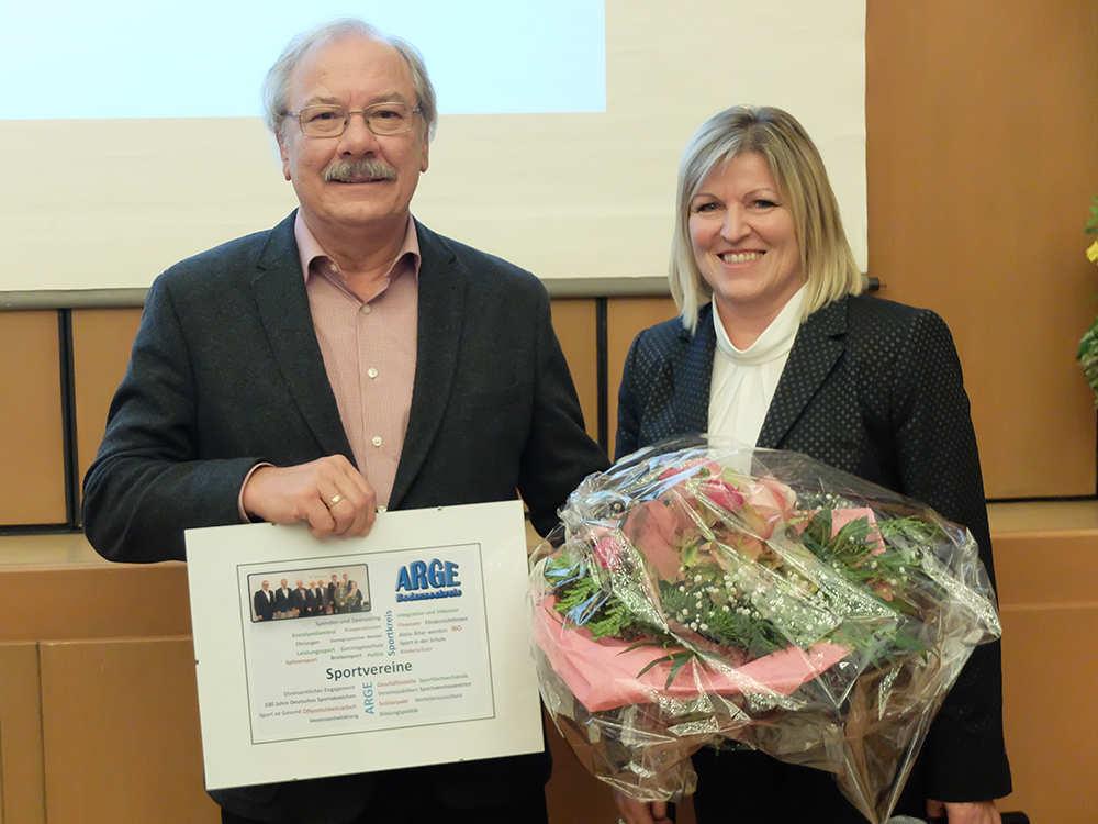 Rudolf Landwehr und Eveline Leber